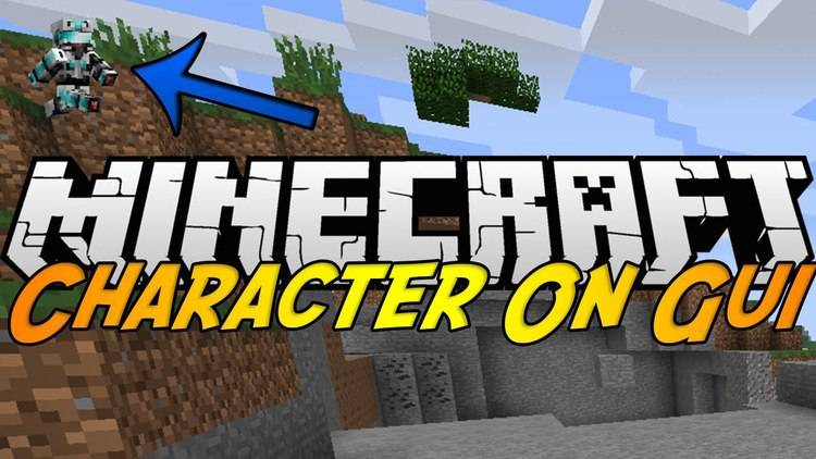 character-on-gui-mod-for-minecraft-1-11-21-10-2 Character On GUI Mod for Minecraft 1.11.2/1.10.2