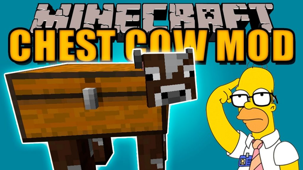 chest-cow-mod-1-11-2-for-minecraft Chest Cow Mod 1.11.2 for Minecraft