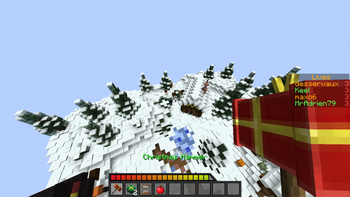 christmas-brawl-map-for-minecraft-1-11 Christmas Brawl Map for Minecraft 1.11
