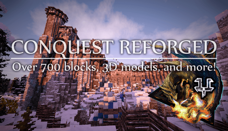 conquest-reforged-mod-1-11-21-10-2-for-minecraft-over-700-blocks-3d-models Conquest Reforged Mod 1.11.2/1.10.2 for Minecraft – Over 700 blocks, 3D models