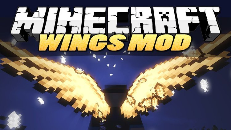 cosmetic-wings-mod-for-minecraft-1-11-21-10-2 Cosmetic Wings Mod for Minecraft 1.11.2/1.10.2