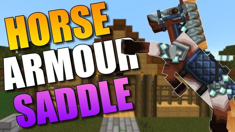 craftable-horse-armour-saddle-mod-for-1-11-21-10-2 Craftable Horse Armour & Saddle Mod for 1.11.2/1.10.2
