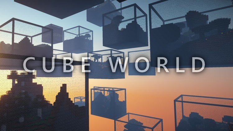 cube-world-mod-1-11-21-10-2-for-minecraft Cube World Mod 1.11.2/1.10.2 for Minecraft