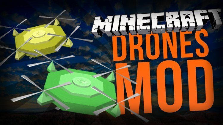 custom-drones-mod-for-minecraft-1-11-21-10-2 Custom Drones Mod for Minecraft 1.11.2/1.10.2