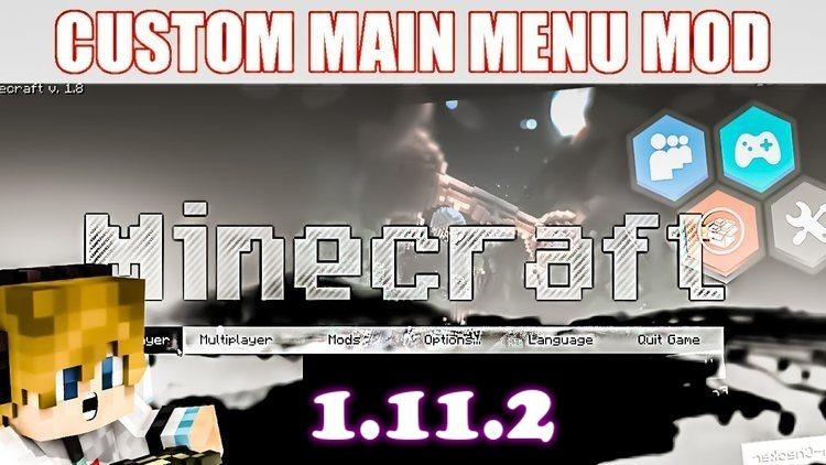 custom-main-menu-mod-1-11-21-10-2-for-minecraft Custom Main Menu Mod 1.11.2/1.10.2 for Minecraft