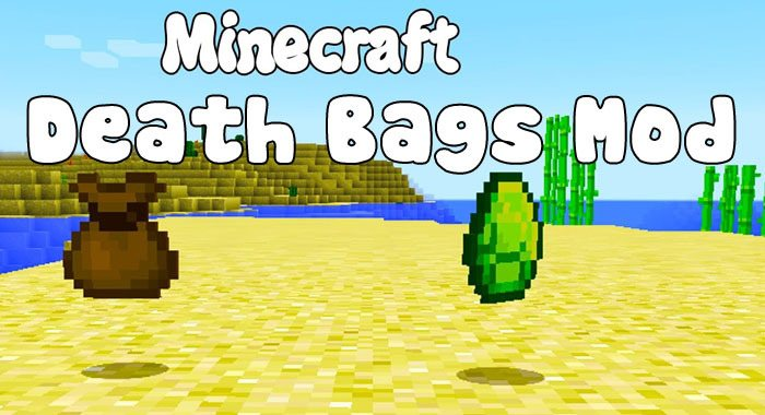 death-bags-mod-1-11-21-10-2-for-minecraft Death Bags Mod 1.11.2/1.10.2 for Minecraft