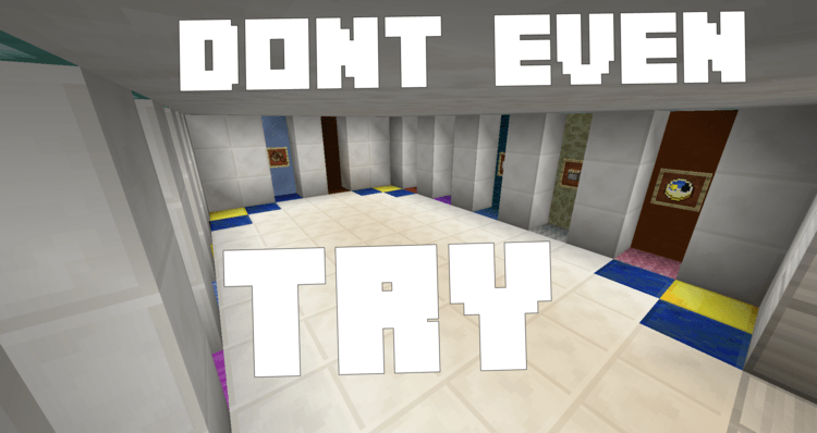 dont-even-try-map-for-minecraft-1-10-2 Dont Even Try Map for Minecraft 1.10.2