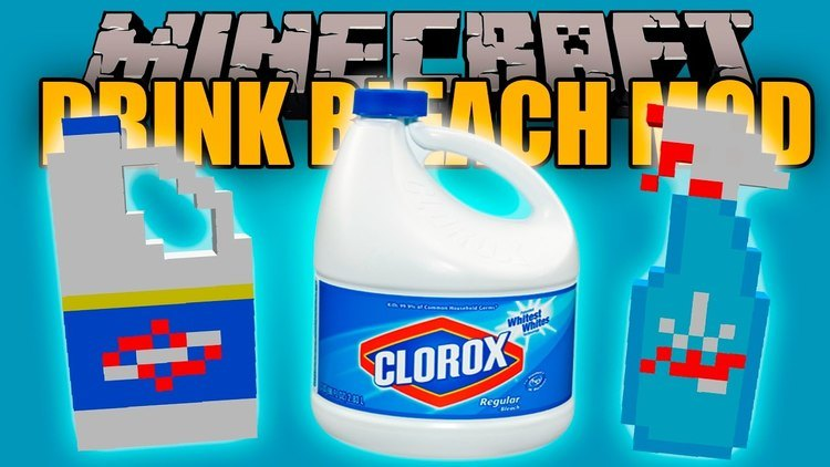 drink-bleach-mod-1-11-21-10-2-for-minecraft Drink Bleach Mod 1.11.2/1.10.2 for Minecraft
