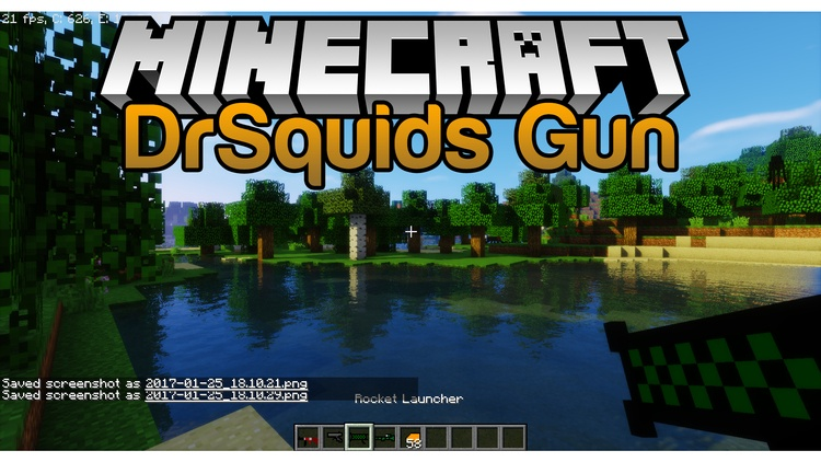 drsquids-gun-mod-1-11-21-10-2-for-minecraft DrSquids Gun Mod 1.11.2/1.10.2 for Minecraft