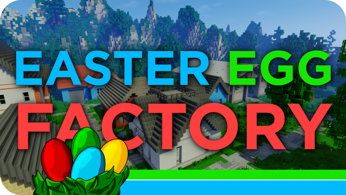 easter-egg-factory-map-for-minecraft-1-11-2 Easter Egg Factory Map for Minecraft 1.11.2