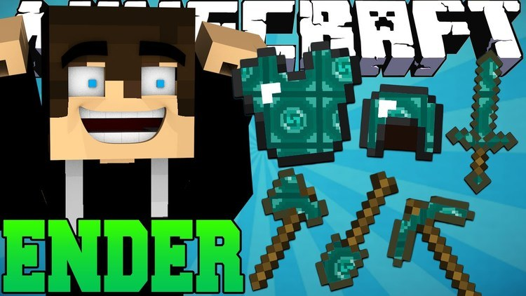 ender-armor-mod-1-7-10-for-minecraft Ender Armor Mod 1.7.10 for Minecraft