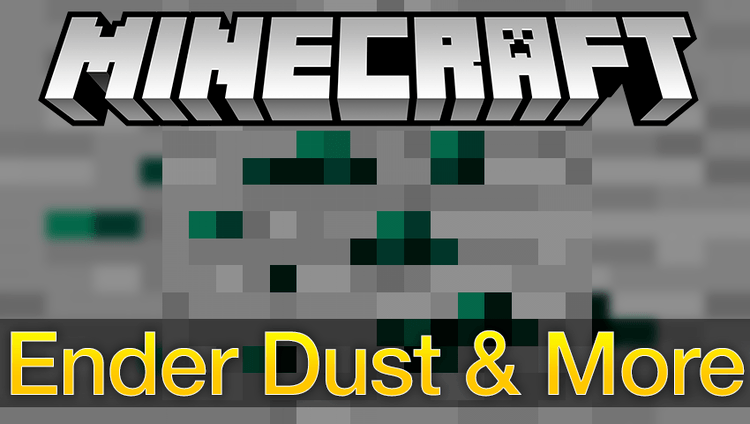 ender-dust-and-more-mod-1-11-21-10-2-for-minecraft Ender Dust and More Mod 1.11.2/1.10.2 for Minecraft