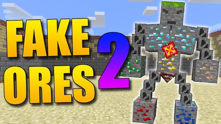 fake-ores-2-mod-1-11-21-10-2-ore-boss-in-minecraft Fake Ores 2 Mod 1.11.2/1.10.2 – Ore Boss in Minecraft