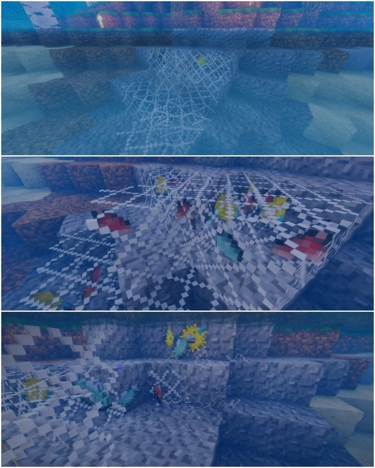 Fishing Net Mod for Minecraft 1