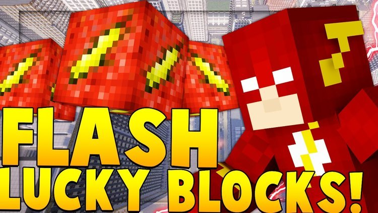flash-lucky-block-mod-for-minecraft-1-11-21-10-2 Flash Lucky Block Mod for Minecraft 1.11.2/1.10.2