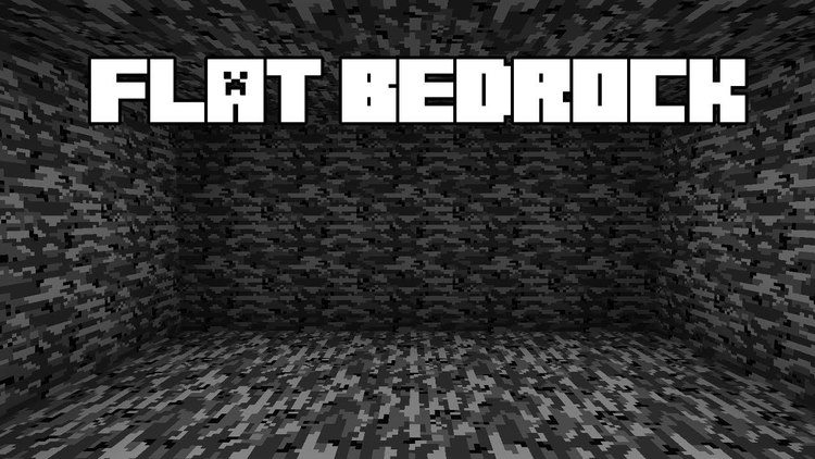 Flat Bedrock Xplosion's Edition mod for minecraft logo
