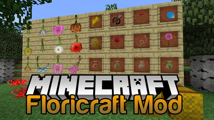 floricraft-mod-1-11-21-10-2-for-minecraft Floricraft Mod 1.11.2/1.10.2 for Minecraft