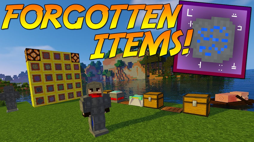 forgotten-items-mod-1-11-2-rediscovered-items Forgotten Items Mod 1.11.2 (Rediscovered Items)
