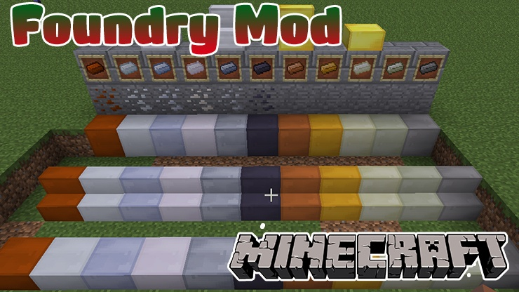 foundry-mod-for-minecraft-1-11-21-10-2 Foundry Mod for Minecraft 1.11.2/1.10.2