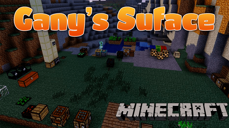 ganys-surface-mod-for-minecraft-1-11-21-10-2 Gany's Surface Mod for Minecraft 1.11.2/1.10.2