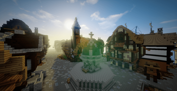 great-fire-of-1666-map-for-minecraft-1-10-21-9-4 Great Fire Of 1666 Map for Minecraft 1.10.2/1.9.4