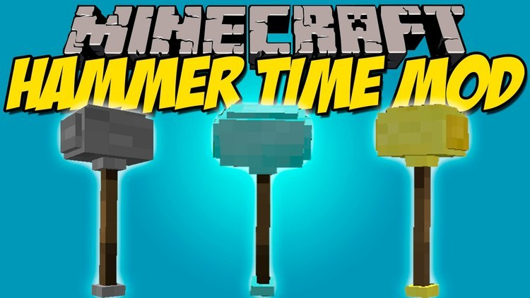 hammer-time-mod-add-super-tools-to-minecraft-1-11-21-10-2 Hammer Time! Mod (Add super Tools to Minecraft) 1.11.2/1.10.2