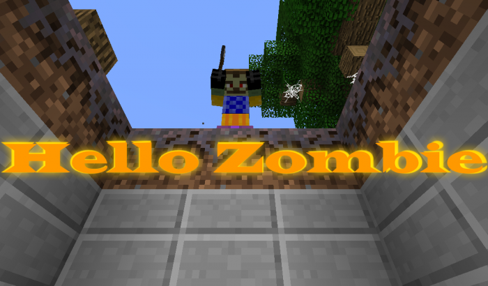 hello-zombie-map-for-minecraft-1-11-2 Hello Zombie Map for Minecraft 1.11.2