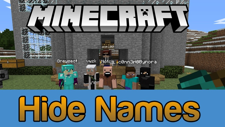 hide-names-mod-1-11-21-10-2-become-anonymous-in-minecraft Hide Names Mod 1.11.2/1.10.2 – Become Anonymous in Minecraft