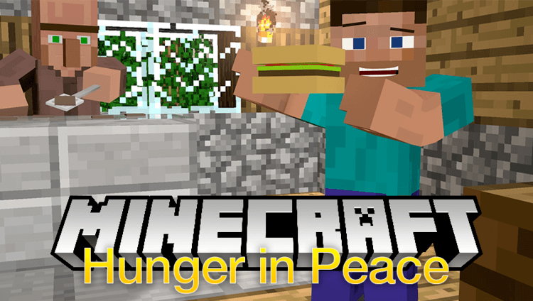 hunger-in-peace-mod-1-11-21-10-2-for-minecraft Hunger in Peace Mod 1.11.2/1.10.2 for Minecraft