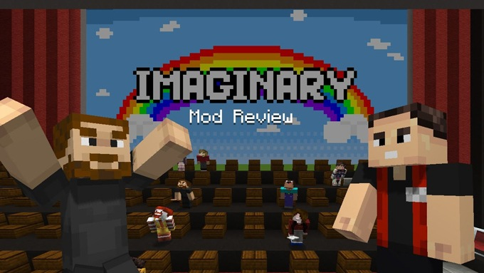 Imaginary Mod for Minecraft Logo