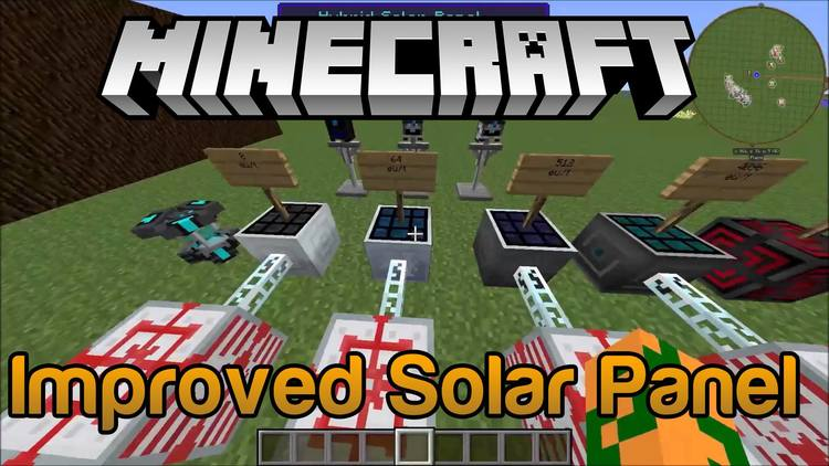 improved-solar-panels-mod-1-11-21-10-2-for-minecraft Improved Solar Panels Mod 1.11.2/1.10.2 for Minecraft