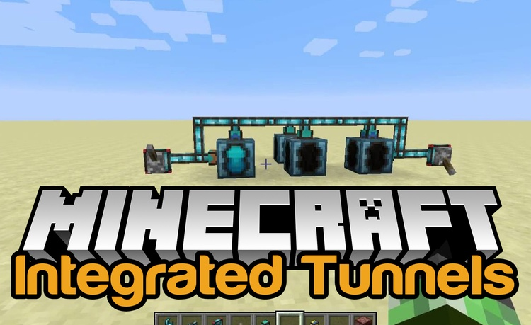 integrated-tunnels-mod-1-11-21-10-2-for-minecraft Integrated Tunnels Mod 1.11.2/1.10.2 for Minecraft