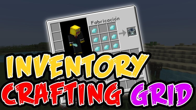 inventory-crafting-grid-mod-for-minecraft-1-11-21-10-2 Inventory Crafting Grid Mod for Minecraft 1.11.2/1.10.2