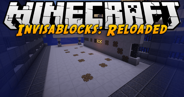 Invisablocks Reloaded Map For Minecraft - Maps fur minecraft 1 10