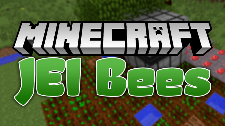JEI Bees mod for minecraft logo