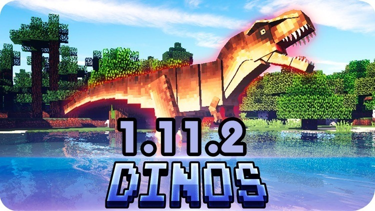 jurassicraft-2-mod-1-11-21-10-2-for-minecraft JurassiCraft 2 Mod 1.11.2/1.10.2 for Minecraft