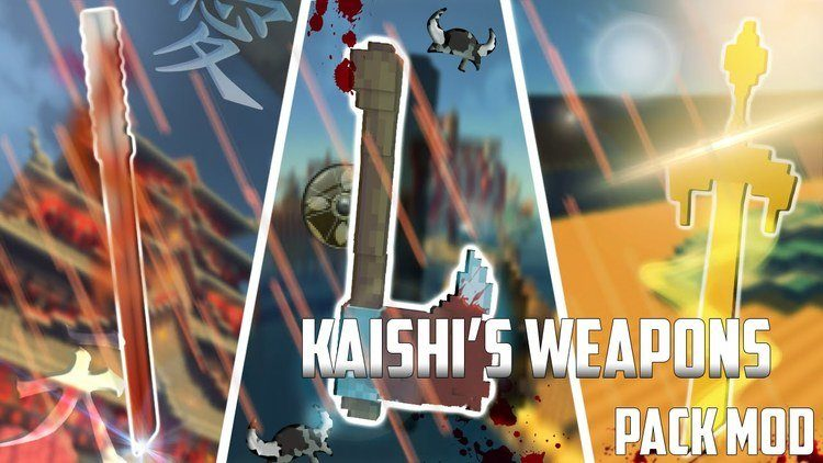kaishis-weapon-pack-mod-1-11-21-10-2 Kaishi's Weapon Pack Mod 1.11.2/1.10.2