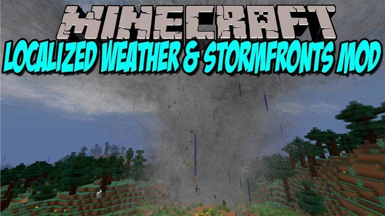 localized-weather-stormfronts-mod-for-1-11-21-10-2 Localized Weather & Stormfronts Mod for 1.11.2/1.10.2