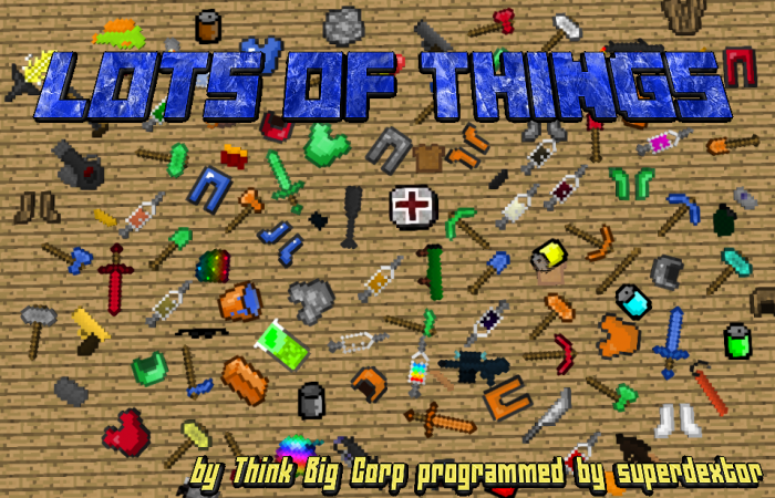 lots-of-things-mod-for-minecraft-1-11-21-10-2 Lots of Things Mod for Minecraft 1.11.2/1.10.2