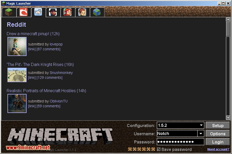 magic-launcher-for-minecraft-1-8-11-8-2014-3 Magic Launcher 1.11.2/1.10.2 (Auto Mod Installer, Startup)