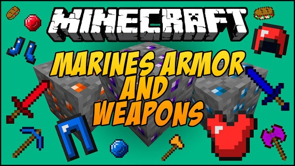 marines-armor-and-weapon-mod-for-1-11-21-10-2 Marines Armor and Weapon Mod for 1.11.2/1.10.2