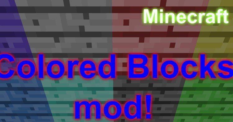 minecraft-colored-blocks-mod-1-11-21-10-2 Minecraft Colored Blocks Mod 1.11.2/1.10.2