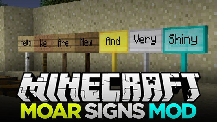 moar-signs-mod-for-minecraft-1-11-21-10-2 Moar Signs Mod for Minecraft 1.11.2/1.10.2