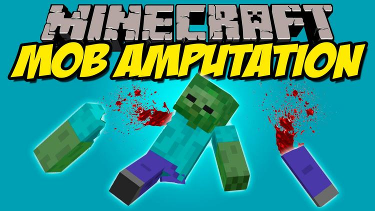 mob-amputation-mod-1-11-21-10-2-amputate-limbs-of-mobs-in-minecraft Mob Amputation Mod 1.11.2/1.10.2 – Amputate limbs of Mobs in Minecraft