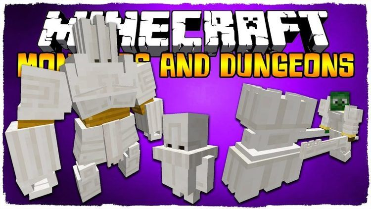 monsters-and-dungeons-mod-1-11-21-10-2-for-minecraft Monsters and Dungeons Mod 1.11.2/1.10.2 for Minecraft