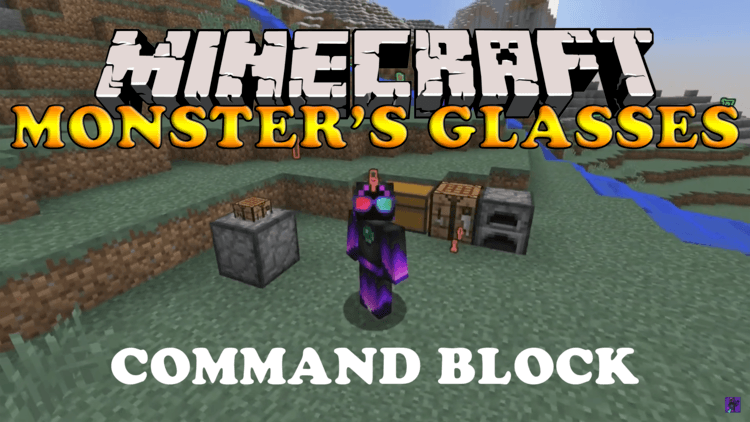 monsters-glasses-command-block-for-minecraft-1-10-2 Monster's Glasses Command Block for Minecraft 1.10.2