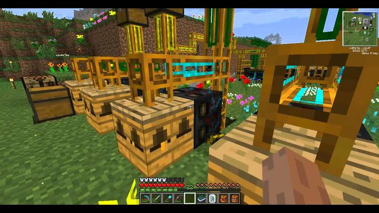 more-bees-mod-1-11-21-10-2-addon-for-forestry More Bees Mod 1.11.2/1.10.2 – Addon for Forestry