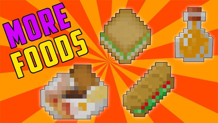more-foods-mod-1-11-21-10-2-for-minecraft More Foods Mod 1.11.2/1.10.2 for Minecraft