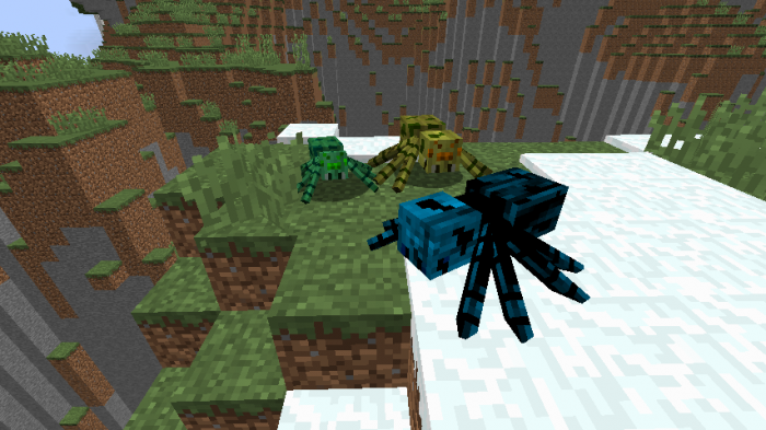 much-more-spiders-v2-mod-for-minecraft-1-11-2 Much More Spiders V2 Mod for Minecraft 1.11.2