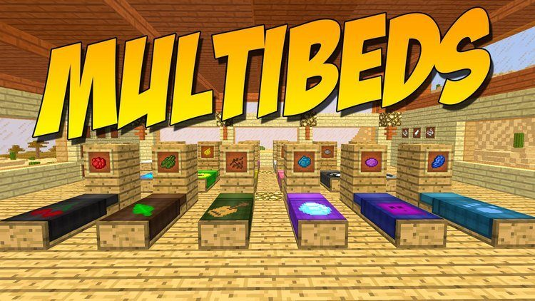 multibeds-mod-for-minecraft-1-11-21-10-2 MultiBeds Mod for Minecraft 1.11.2/1.10.2